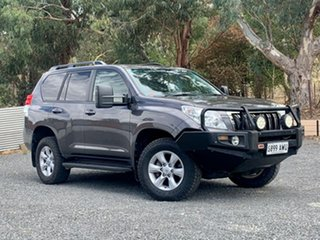 2013 Toyota Landcruiser Prado KDJ150R Altitude Grey 5 Speed Sports Automatic Wagon.