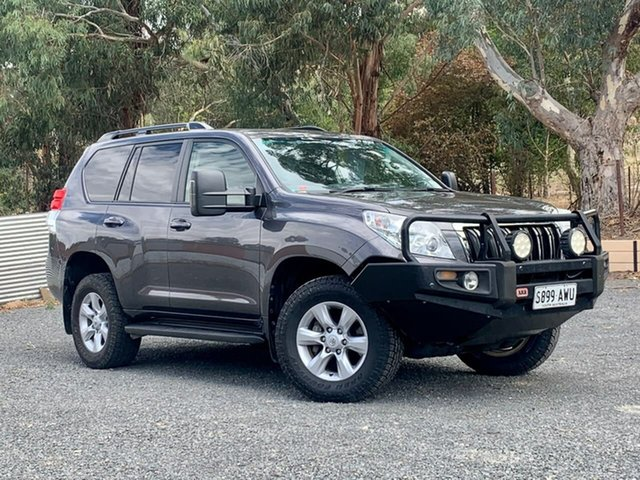 Used Toyota Landcruiser Prado KDJ150R Altitude Clare, 2013 Toyota Landcruiser Prado KDJ150R Altitude Grey 5 Speed Sports Automatic Wagon