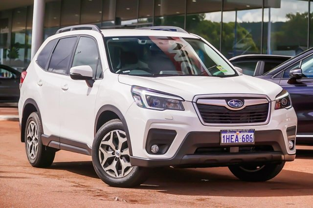 Demo Subaru Forester S5 2.5I Gosnells, 2020 Subaru Forester S5 2.5I White Constant Variable SUV