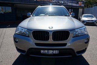 2012 BMW X3 F25 MY0412 xDrive20i Steptronic Space Grey 8 Speed Automatic Wagon