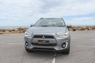 2015 Mitsubishi ASX XB MY15.5 XLS 2WD Grey 6 Speed Constant Variable Wagon