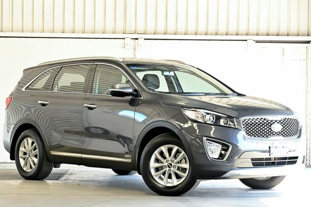 Used Kia Sorento UM MY16 Si AWD Laverton North, 2016 Kia Sorento UM MY16 Si AWD Platinum Graphite 6 Speed Sports Automatic Wagon