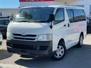 2009 Toyota HiAce KDH201R White 4 Speed Automatic Van.