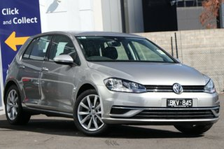 2020 Volkswagen Golf 7.5 MY20 110TSI DSG Comfortline Silver 7 Speed Sports Automatic Dual Clutch.