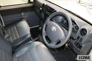 2011 Toyota Landcruiser VDJ78R 09 Upgrade Workmate (4x4) 3 Seat White 5 Speed Manual TroopCarrier