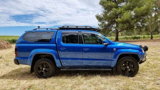 2018 Volkswagen Amarok 2H MY18 TDI550 4MOTION Perm Ultimate Ravenna Blue 8 Speed Automatic Utility