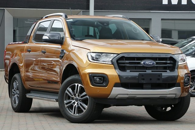 Used Ford Ranger PX MkIII 2020.75MY Wildtrak Parramatta, 2020 Ford Ranger PX MkIII 2020.75MY Wildtrak Orange 10 Speed Sports Automatic Double Cab Pick Up
