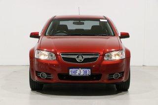 2012 Holden Berlina VE II MY12 Red 6 Speed Automatic Sedan.