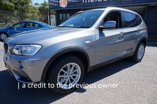 2012 BMW X3 F25 MY0412 xDrive20i Steptronic Space Grey 8 Speed Automatic Wagon.