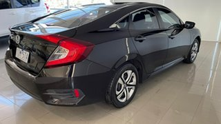 2016 Honda Civic 10th Gen MY16 VTi Maroon 1 Speed Constant Variable Sedan.