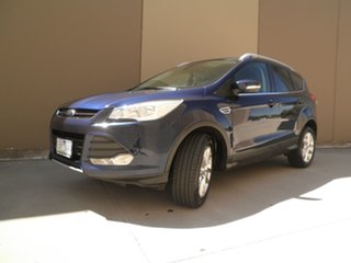 2013 Ford Kuga TF Trend AWD Ink Blue 6 Speed Sports Automatic Wagon.