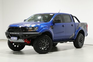 2020 Ford Ranger PX MkIII MY20.75 XLS 3.2 (4x4) Blue 6 Speed Automatic Double Cab Pick Up.