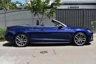 2017 Audi S5 F5 MY18 Tiptronic Quattro Blue 8 Speed Sports Automatic Cabriolet