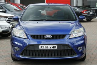 2010 Ford Focus LV XR5 Turbo Blue 6 Speed Manual Hatchback