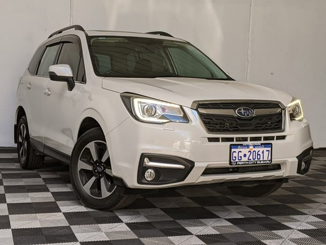 Used Subaru Forester S4 MY18 2.5i-L CVT AWD Luxury Victoria Park, 2018 Subaru Forester S4 MY18 2.5i-L CVT AWD Luxury White 6 Speed Constant Variable Wagon