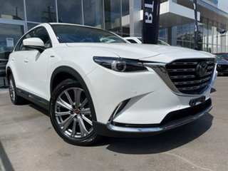 2020 Mazda CX-9 TC 100th Anniversary SKYACTIV-Drive i-ACTIV AWD White 6 Speed Sports Automatic Wagon.