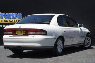 1998 Holden Calais VT White 4 Speed Automatic Sedan
