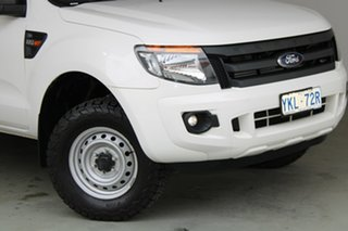 2015 Ford Ranger PX XL Hi-Rider White 6 Speed Manual Cab Chassis