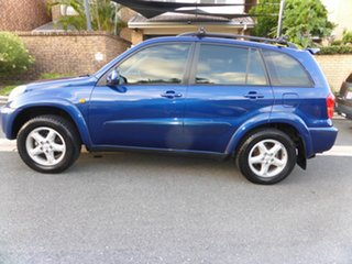 2000 Toyota RAV4 ACA21R Cruiser (4x4) Blue 4 Speed Automatic 4x4 Wagon.