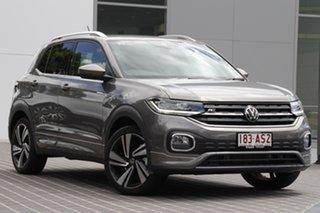 2020 Volkswagen T-Cross C1 MY21 85TSI DSG FWD Style Limestone Grey 7 Speed.