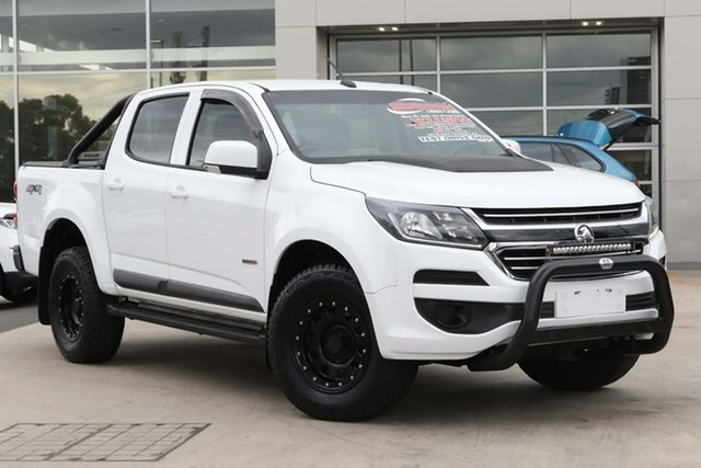 Used Holden Colorado RG MY17 LS Crew Cab Liverpool, 2017 Holden Colorado RG MY17 LS Crew Cab White 6 Speed Sports Automatic Cab Chassis