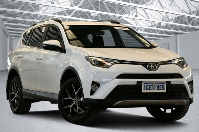 Used Toyota RAV4 ZSA42R MY16 GXL (2WD) Perth Airport, 2016 Toyota RAV4 ZSA42R MY16 GXL (2WD) Glacier White Continuous Variable Wagon