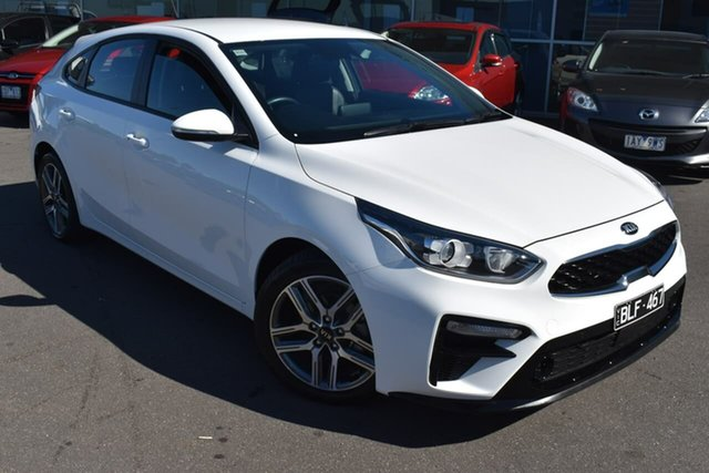 Used Kia Cerato BD MY20 Sport+ Essendon Fields, 2019 Kia Cerato BD MY20 Sport+ White 6 Speed Sports Automatic Hatchback