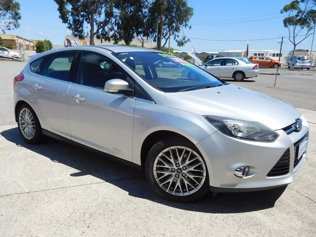 Used Ford Focus LW Sport Wangara, 2012 Ford Focus LW Sport Silver 5 Speed Manual Hatchback