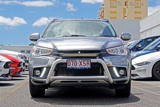 2017 Mitsubishi ASX XC MY17 LS 2WD Grey 6 Speed Constant Variable Wagon.
