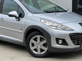 2011 Peugeot 207 A7 Series II MY10 Outdoor Touring Silver 6 Speed Manual Wagon