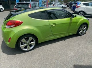 2013 Hyundai Veloster FS2 + Coupe Green Apple 6 Speed Manual Hatchback