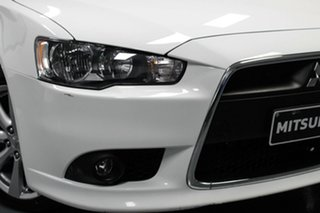 2014 Mitsubishi Lancer CJ MY15 GSR Sportback White 6 Speed Constant Variable Hatchback.