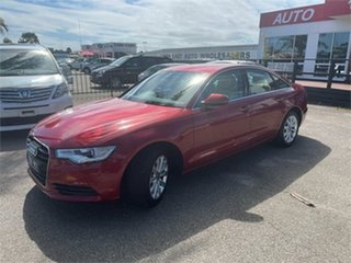 2013 Audi A6 4G Red 1 Speed Constant Variable Sedan.