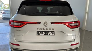 2017 Renault Koleos HZG Intens X-tronic White 1 Speed Constant Variable Wagon