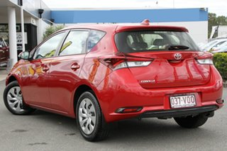 2015 Toyota Corolla ZRE182R Ascent S-CVT Wildfire 7 Speed Constant Variable Hatchback.