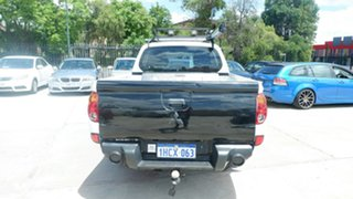 2010 Mitsubishi Triton MN MY10 GLX Double Cab White 5 Speed Manual Utility
