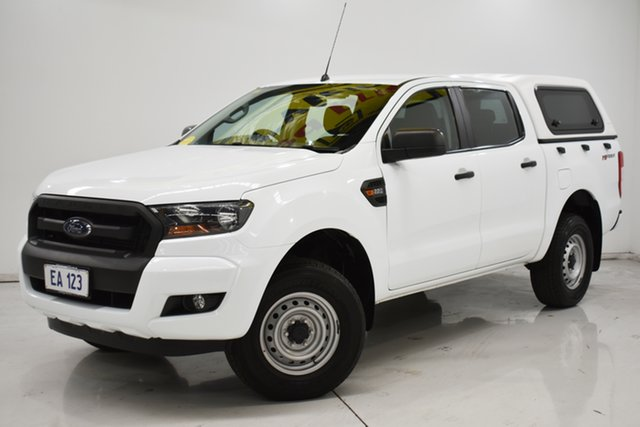 Used Ford Ranger PX MkII XL Hi-Rider Brooklyn, 2016 Ford Ranger PX MkII XL Hi-Rider White 6 Speed Sports Automatic Utility