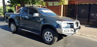 2013 Holden Colorado RG LTZ (4x4) Green 5 Speed Manual Space Cab Pickup.