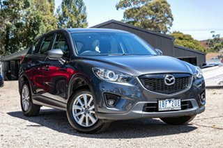 2013 Mazda CX-5 KE1071 Maxx SKYACTIV-Drive Sport Meteor Grey 6 Speed Sports Automatic Wagon.