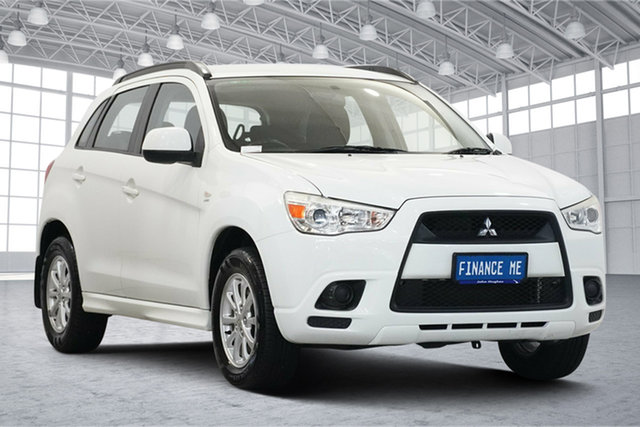 Used Mitsubishi ASX XA MY11 Aspire Victoria Park, 2010 Mitsubishi ASX XA MY11 Aspire White 6 Speed Constant Variable Wagon