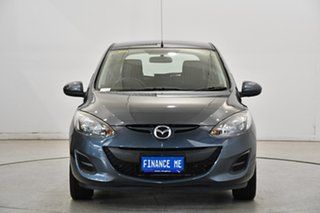 2012 Mazda 2 DE10Y2 MY12 Neo Grey 5 Speed Manual Hatchback.