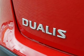 2012 Nissan Dualis J10W Series 3 MY12 ST Hatch X-tronic 2WD Red 6 Speed Constant Variable Hatchback