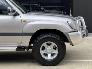 1999 Toyota Landcruiser FZJ105R GXL Silver 4 Speed Automatic Wagon