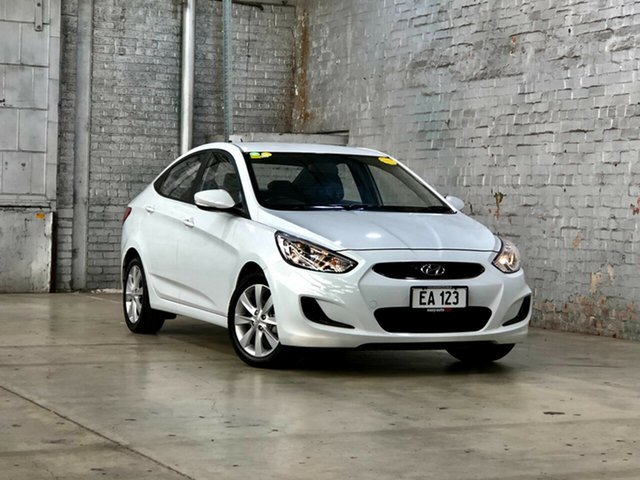 Used Hyundai Accent RB6 MY18 Sport Mile End South, 2018 Hyundai Accent RB6 MY18 Sport White 6 Speed Sports Automatic Sedan