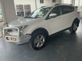 2014 Toyota RAV4 ZSA42R GXL (2WD) White Continuous Variable Wagon.