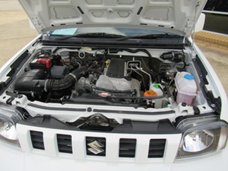 2012 Suzuki Jimny SN413 T6 Sierra White 4 Speed Automatic Hardtop