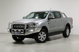 2020 Ford Ranger PX MkIII MY20.75 XLT 3.2 (4x4) Silver 6 Speed Automatic Double Cab Pick Up.