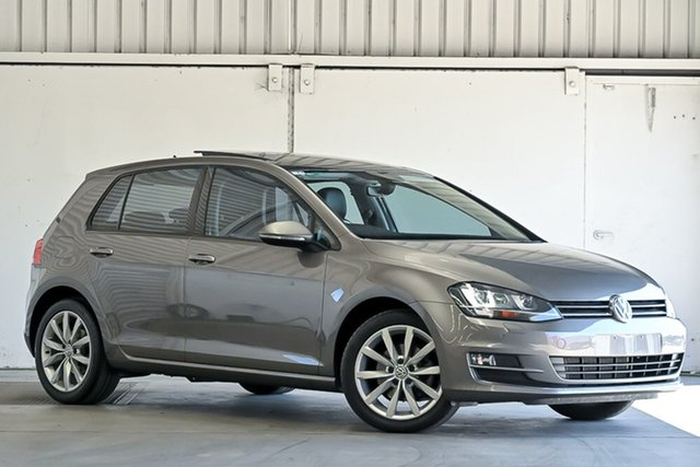 Used Volkswagen Golf VII MY17 110TSI DSG Highline Laverton North, 2016 Volkswagen Golf VII MY17 110TSI DSG Highline Grey 7 Speed Sports Automatic Dual Clutch