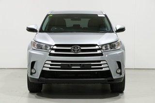 2019 Toyota Kluger GSU50R GXL (4x2) Silver 8 Speed Automatic Wagon.