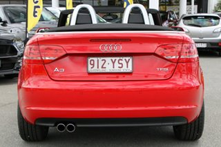 2011 Audi A3 8P MY12 Attraction S Tronic Brilliant Red 7 Speed Sports Automatic Dual Clutch